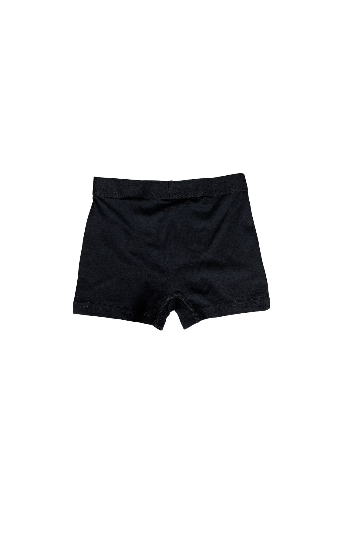 Siyah Erkek Çocuk Pamuklu Boxer 208